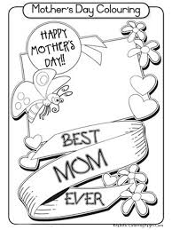 coloring page happy mothers day coloring pages new on style animal