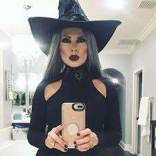 tamra judge jumps on her broom early ahead of halloween in amazing