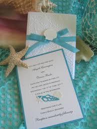 seashell and wedding invitation 45 00 via etsy