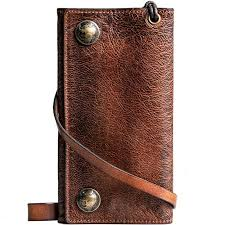 mens travel wallet images Handmade men 39 s fashion leather travel wallet card holder secure jpg