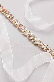 wedding sashes bridal sashes wedding dress belts david s bridal