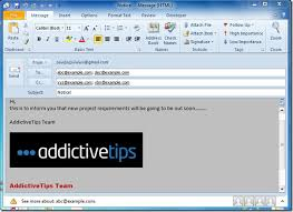 Create An Email Template In Outlook create use email templates in outlook 2010