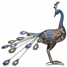 metal peacock bird only 59 99 at garden