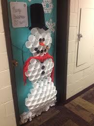snowman door decorations christmas snowman door decoration