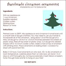 memories with handmade cinnamon ornaments cinnamon