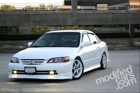 2002 honda accord ex custom champion white honda accord 2002 car