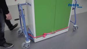 Wohnzimmerschrank Verschieben Möbelhubroller Beispielvideo Zur Benutzung Youtube