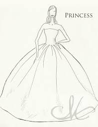 princess wedding dress drawing deviantart anime wedding