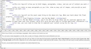html div tag learn css part 2 other ways to write css jones