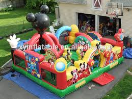 mickey mouse clubhouse bounce house mickey mouse clubhouse bounce house wholesale bounce house