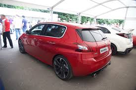 peugeot sport car 308 gti by peugeot sport better than golf and focus rivals