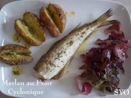 cuisiner merlan merlan pommes de terre au four cyclonique de mamigoz recette ptitchef