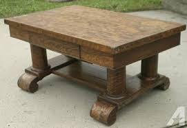 Library Tables For Sale Moving Sale Tiger Oak Coffee Table Empire Feet For Sale In