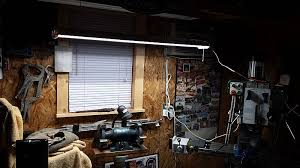hardwired led shop lights lights of america led shop light the garage journal board
