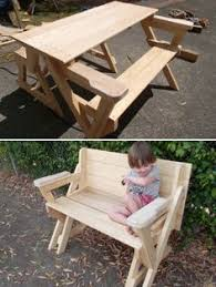 Make Your Own Picnic Table Bench by Convertible Picnic Table And Bench Picnic Tables Picnics And
