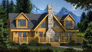 Lakeside Cottage House Plans by The Grand Lake