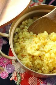 cuisiner curcuma frais un peu dans les coings riz japonais au curcuma frais