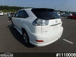 lexus used car auction used toyota harrier from japan car exporter 1110008 giveucar