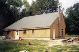 two bedroom home other buildings sevigny custom barns post and beam construction