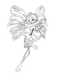 club stella sirenix coloring pages