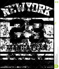 college new york typography t shirt graphics stock vector