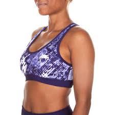 light purple sports bra venum neo camo light support racerback sports bra dark purple ebay