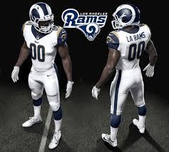 rams unveil uniforms for 2017 season