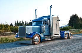 peterbilt trucks images lorry peterbilt light blue cars