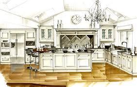 Kitchen Design Sketch Smallbone Of Devizes Custom Made Kitchen Interior Designers