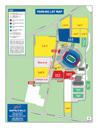 Buffalo State Map by Stadium Maps Buffalo Bills