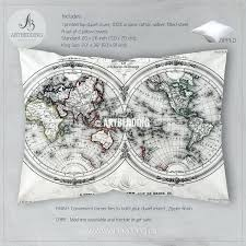 World Map Bedding Old World Bedding Stunning Country French Luxury High End Bedding