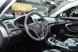 opel paris 2015 opel insignia 2 0 litre cdti dashboard at the 2014 paris