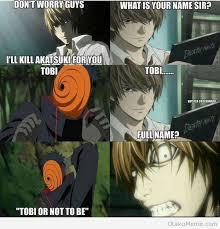 Fullmetal Alchemist Memes - otaku meme anime and cosplay memes how you can t kill tobi with