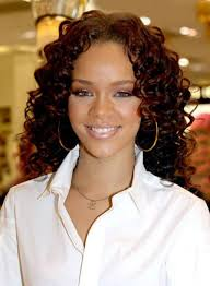 short to medium length hairstyles for curly hair 2017 rihanna shoulder length hairstyles for curly hair