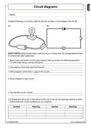 electric circuits worksheets bundle electric circuit worksheets