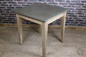 Zinc Top Bar Table Awesome Zinc Top Bar Table With Small Zinc Top Table Industrial
