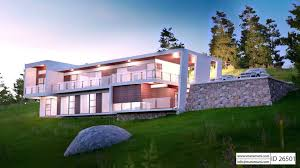 6 Bedroom House Design Bedroom 2 Story Modern House Plan Id 26501 House Designs By