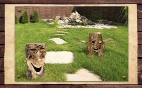 Tree Faces Garden Art Extremely Creative Ways To Use Tree Stumps To Decorate Your House