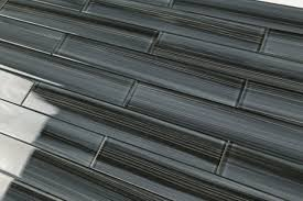 Hand Painted Tiles For Kitchen Backsplash 2x12 Glass Tile Kitchen Bathroom Tile Black Gray Bamboo Hand