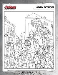 avengers iron legion coloring page disney movies