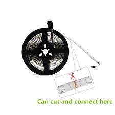 nexlux led light strip 5m 5050 rgb wifi led strip light waterproof diode tape l nexlux