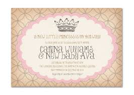 Baby Welcome Invitation Cards Templates Template Printable Princess Baby Shower Invitations
