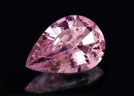 pink morganite 35 75 ct pink morganite with micro pave r5924