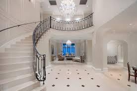 Unique Flooring Ideas Decoration White Interior Unique Marble Tile Flooring Ideas Home