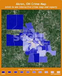 of akron map akron oh crime rates and statistics neighborhoodscout