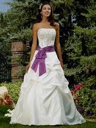 purple wedding dress purple and white wedding dress achor weddings