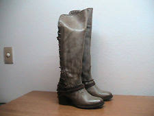 womens boots distressed leather lace up freebird by steven boots for ebay