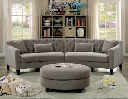 furniture of america cm6370 curved sectional furniture of america cm6370 fabric corner sofa set sarin warm gray fabric curved sectional ottoman