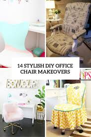 14 stylish diy office chair makeovers you can realize shelterness