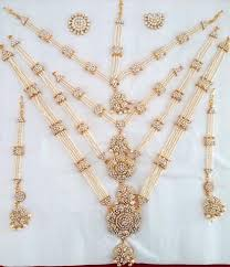 white stones necklace set images White stones pearl jewelry set kuchipudi bharatanatyam stnset801 jpg